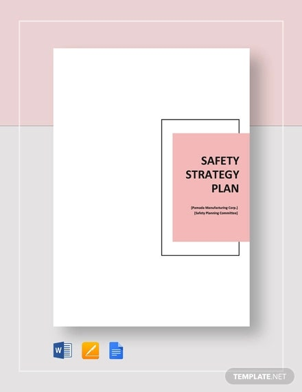 safety strategy plan