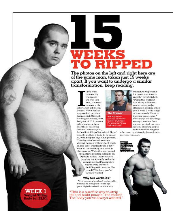 15 weeks workout plan 1