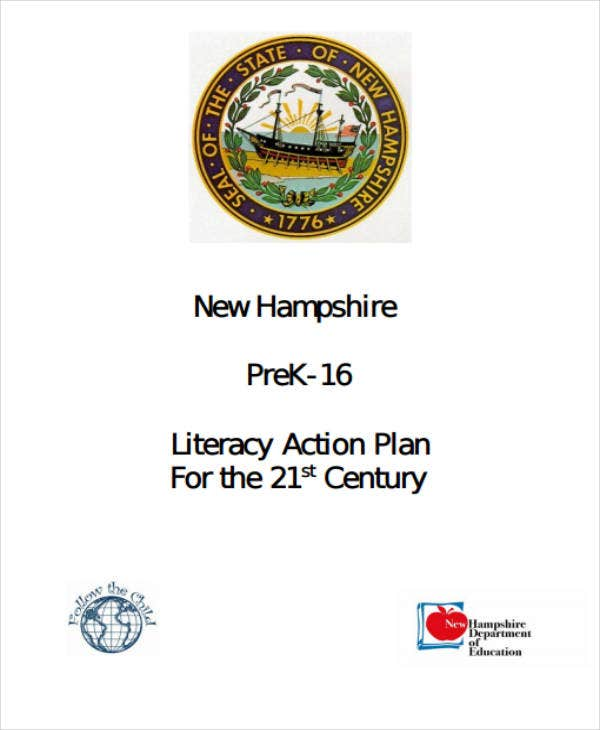 21st century literacy action plan template