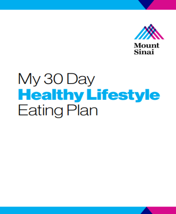 30 day healthy lifestyle eating plan template