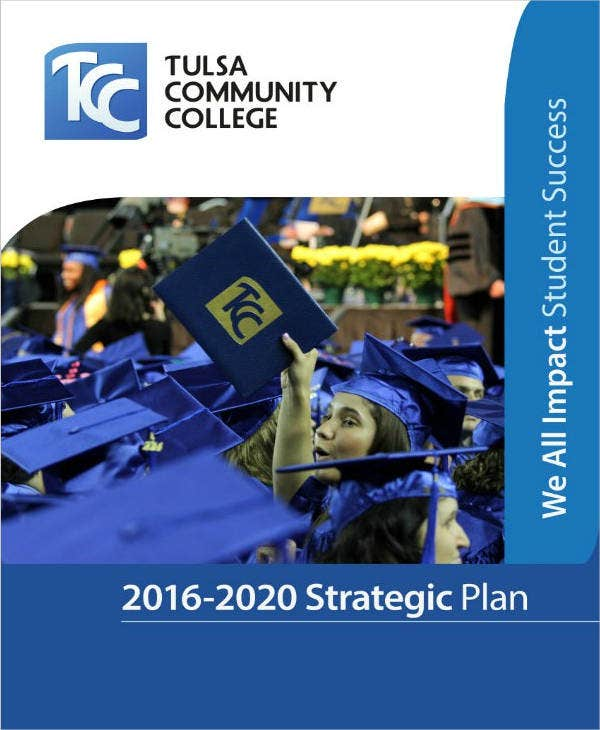 4 year college strategic plan