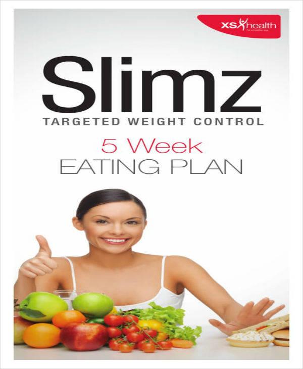 5-Week Eating Plan Sample