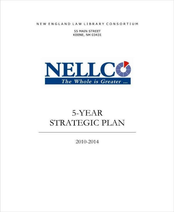 5 year business strategic plan