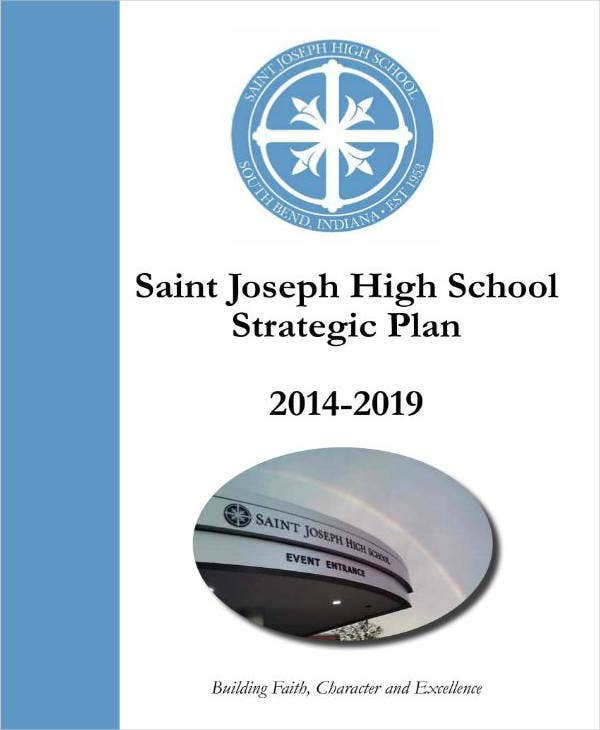 5 Year High School Strategic Plan