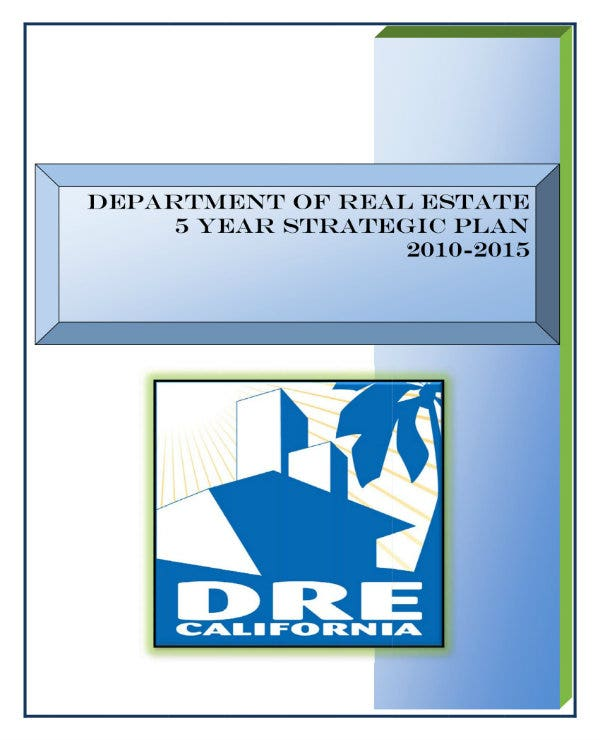 5 year real estate strategic plan 011