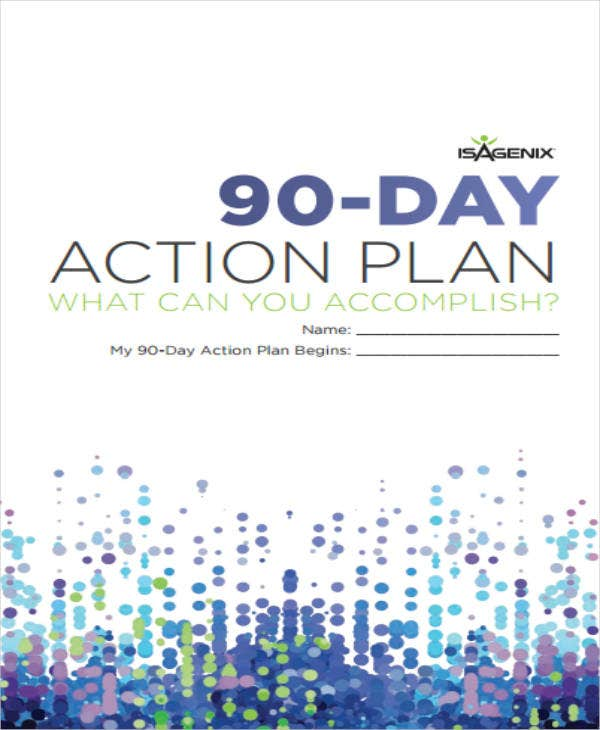 90-Day Action Plan Sample