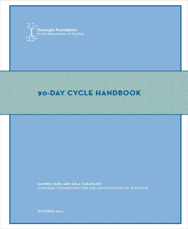 90-Day Cycle Plan Sample