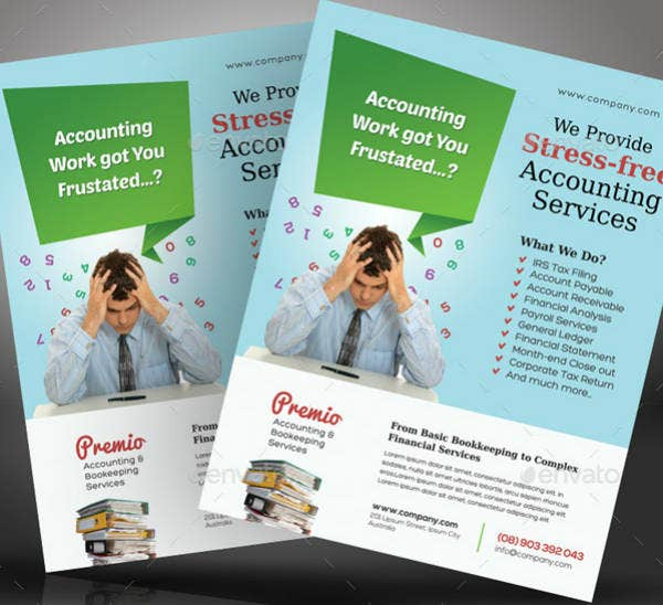 Accounting Service Flyer Example