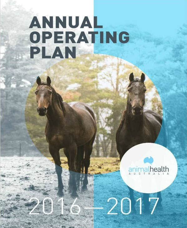 Animal Health Annual Operations Plan