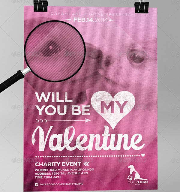Animals Charity Event Flyer Template