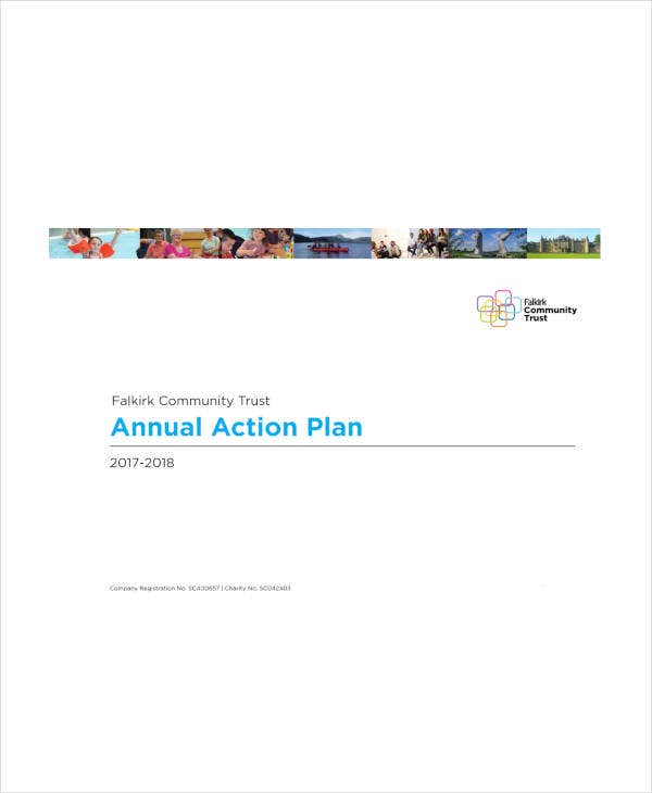 annual sales action plan