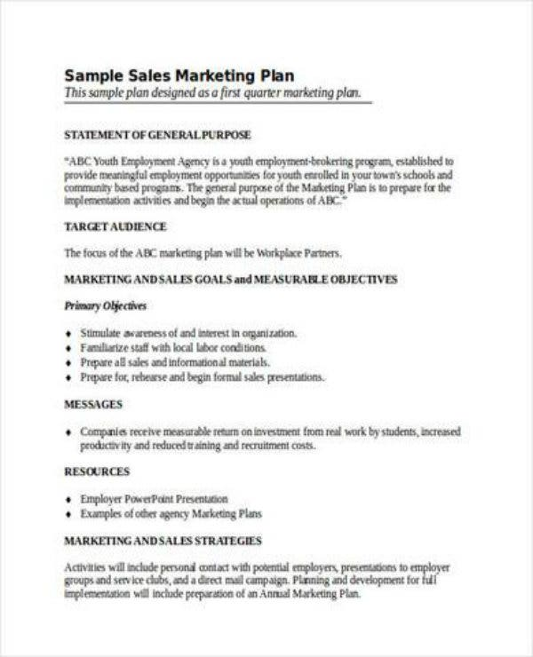 annual sales and marketing plan1