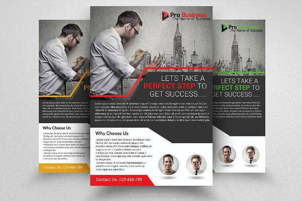 architectural firm business flyer1