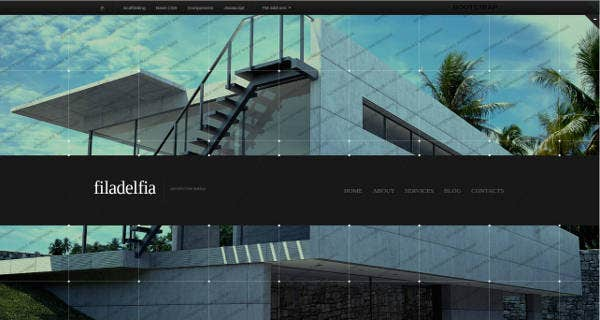 Architecture Website Theme