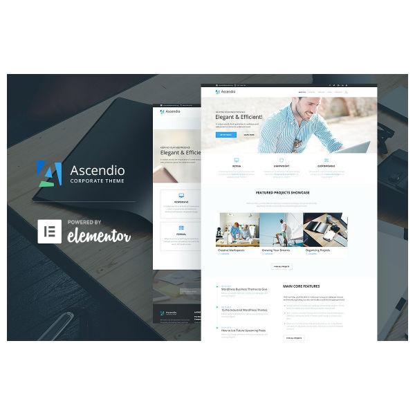 Ascendio - Corporate WordPress Theme