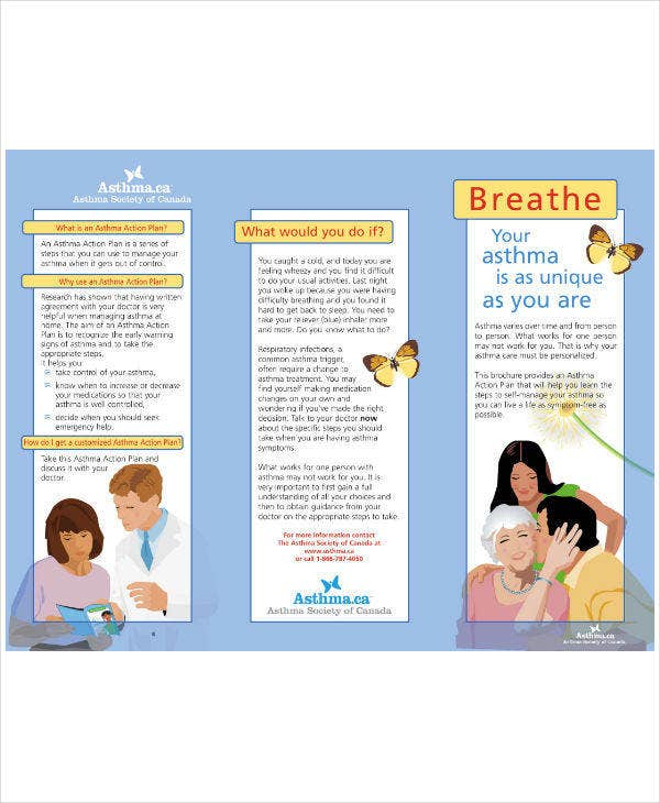 Asthma Society of Canada Action Plan Template