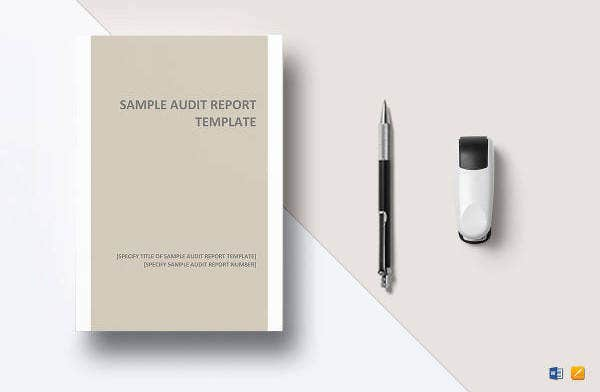 audit report template1