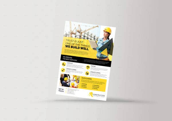 Best Construction Firm Flyer Template