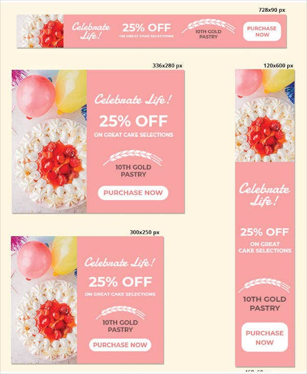birthday banner template
