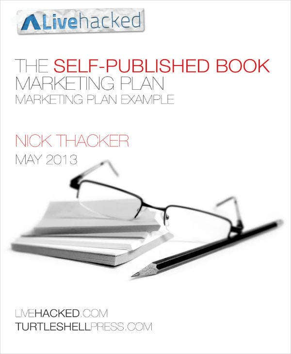Book Marketing Plan Example