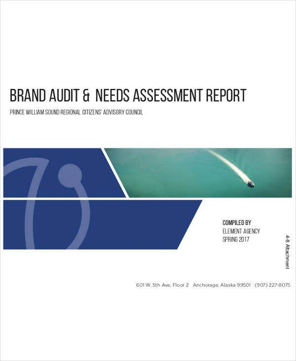 brand audit needs assessment report