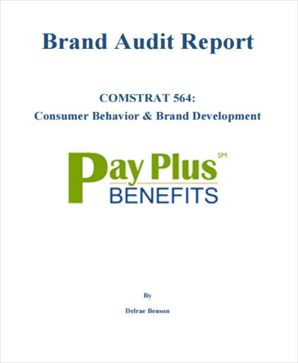 Brand Development Audit Report