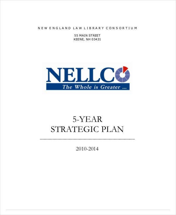 brief 5 year strategic plan
