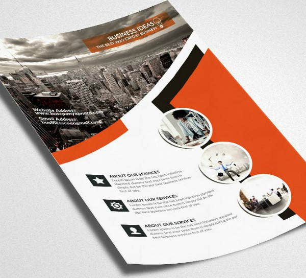 Business Accounting Firm Flyer Template