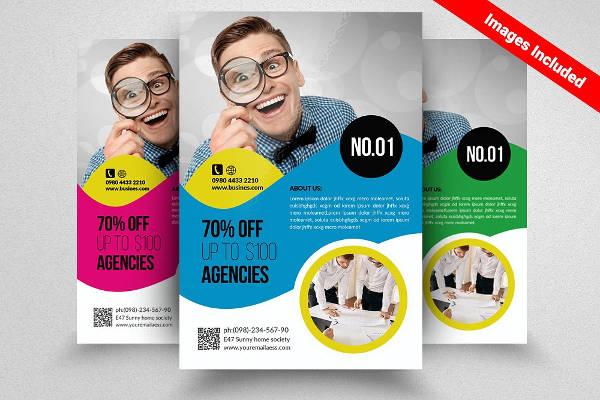 business architecture flyer design