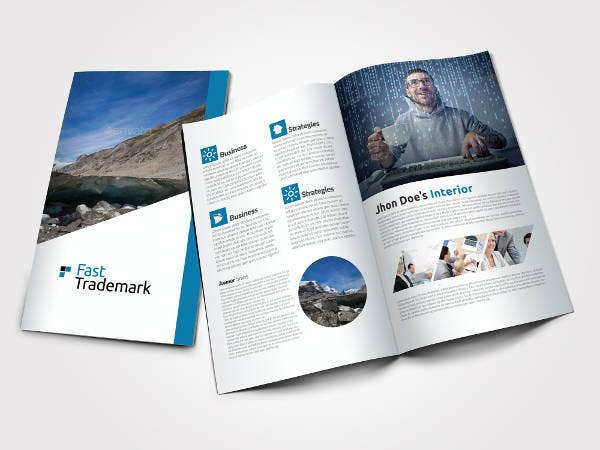 Business Bi-Fold Brochure Template