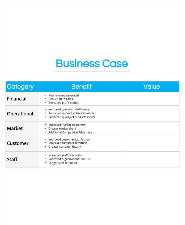 13 business case templates pdf doc free premium templates business case template cheaphphosting