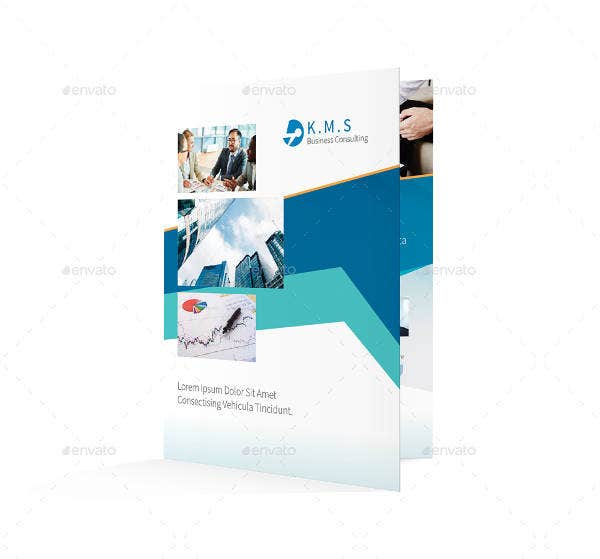 Business Consulting Half-fold Brochure