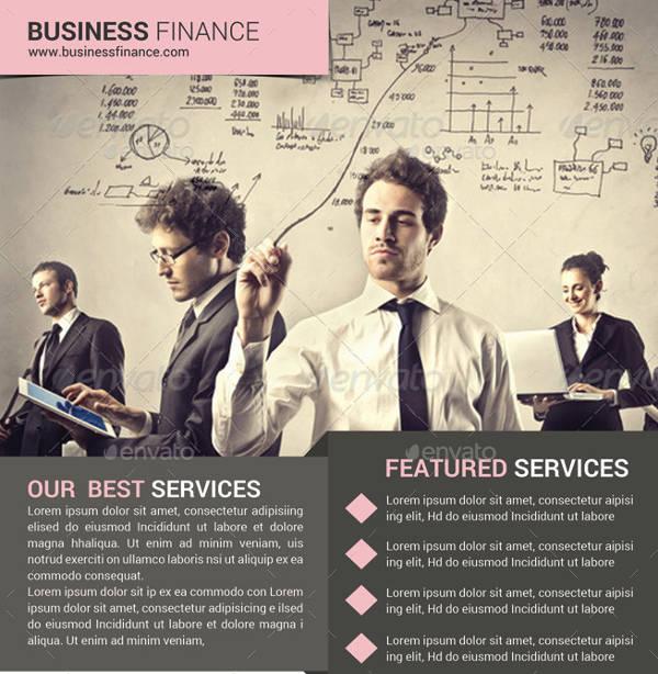 Business Finance Flyer Design