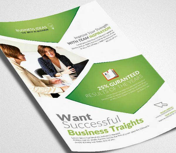 Business Investment Management Flyer
