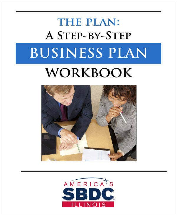 Business Plan Workbook Example
