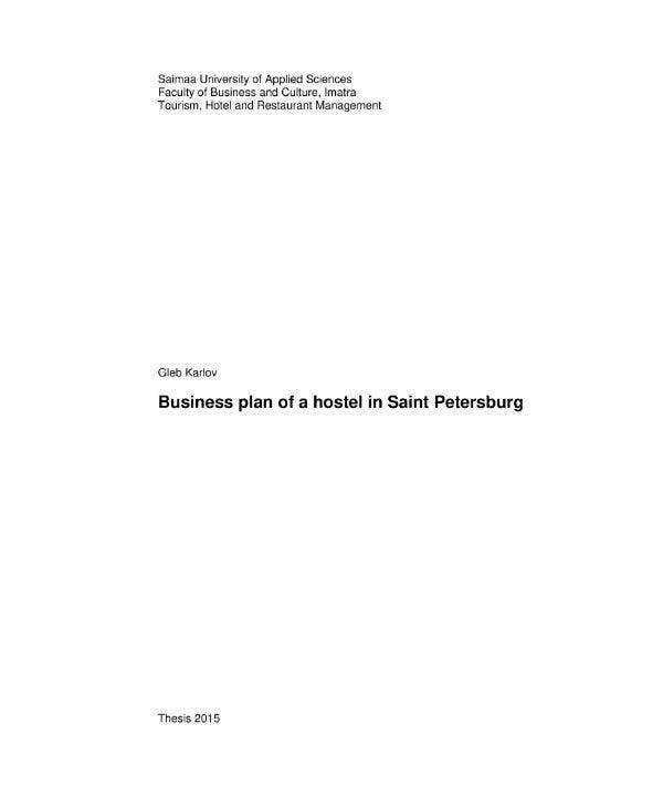 business-plan-of-a-hostel-in-saint-petersburg