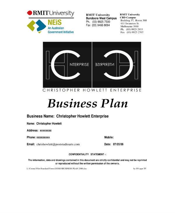 business plan sample 01