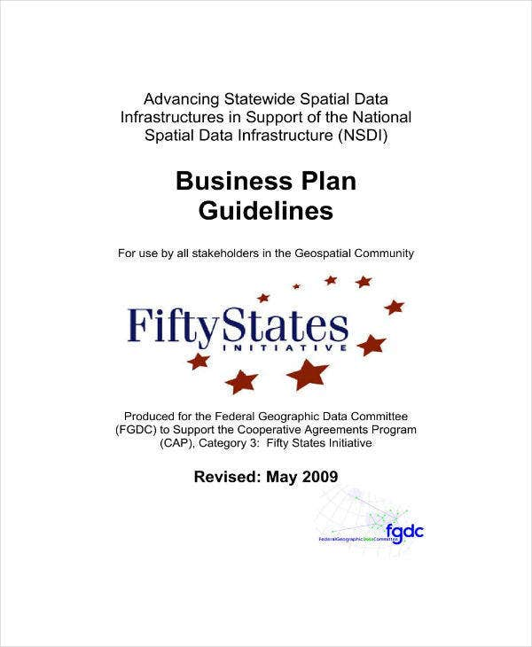 Business Planning Guidelines