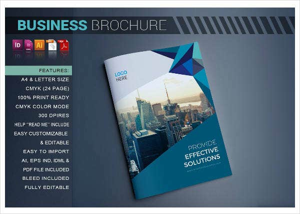 business recruiter brochure example