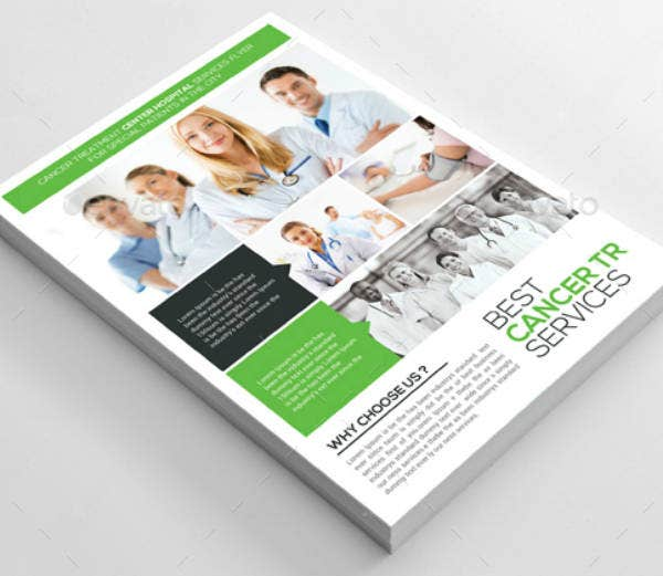 Cancer Services Treatment Flyer Template