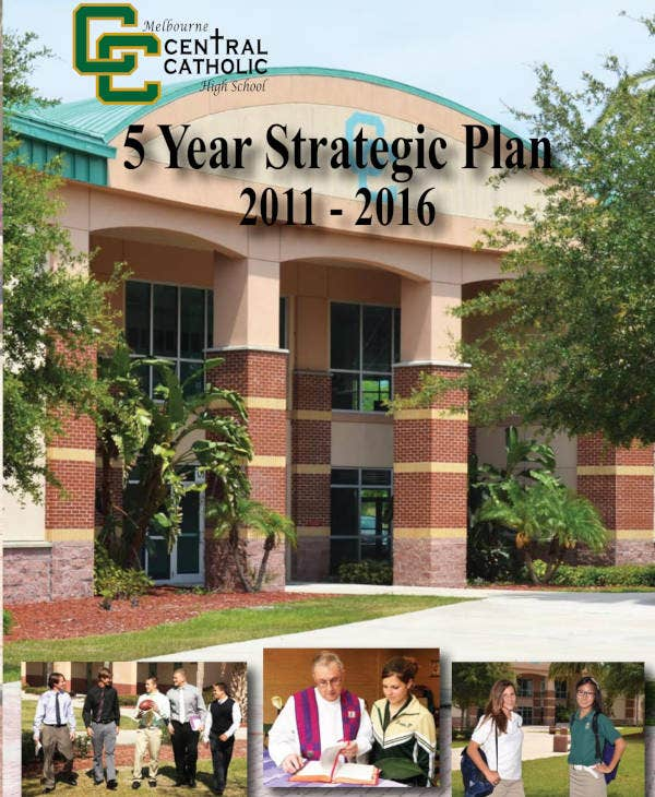 Catholic High School Strategic Plan