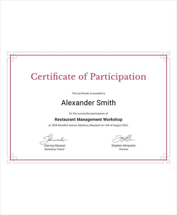 Certification Document Template Suyhi Margarethaydon Com