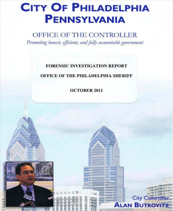 City Controller Forensic Audit Report