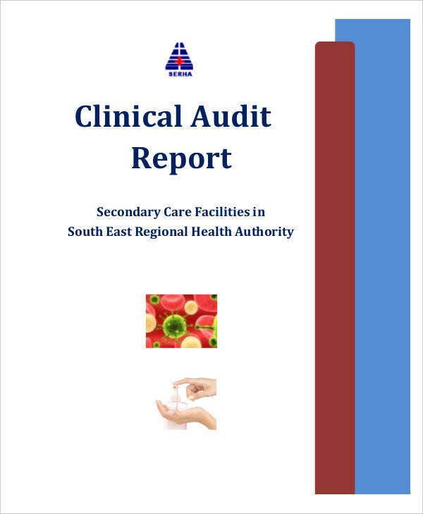 clinical audit report template example
