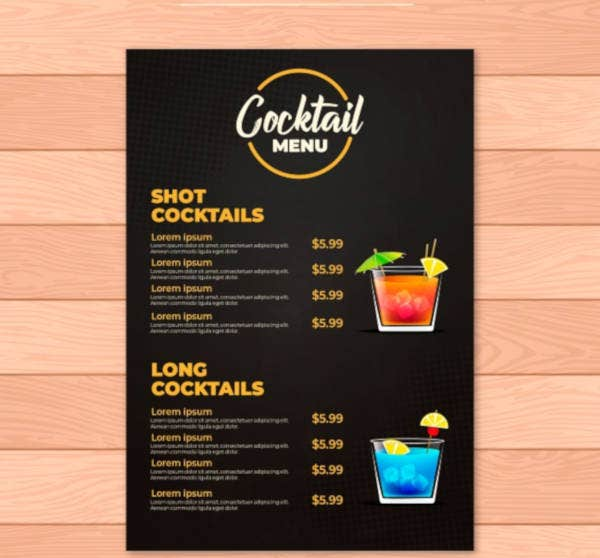 cocktail-menu-template