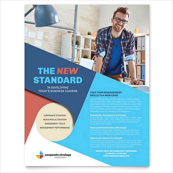 Colorful Corporate Strategy Flyer Template