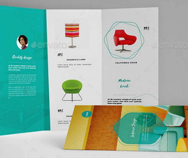 Colorful Minimal Product Brochure Template