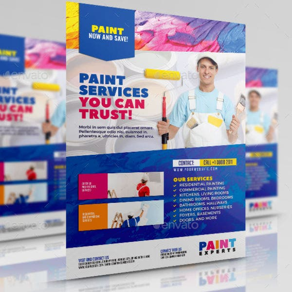 colorful-paint-contractor-flyer-template