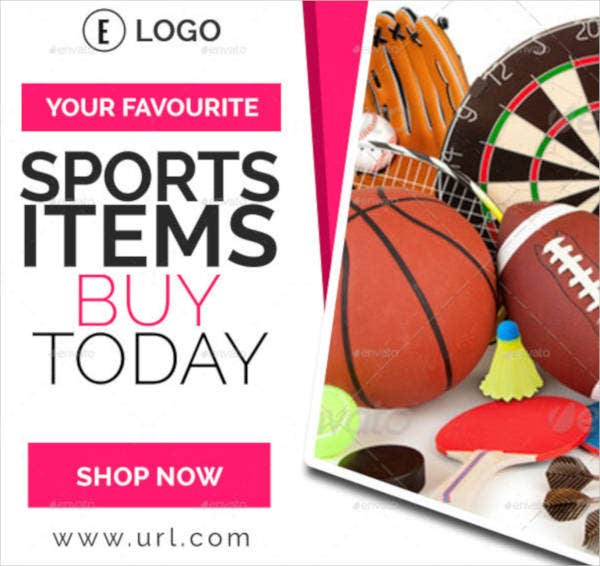 colorful sports banner template2