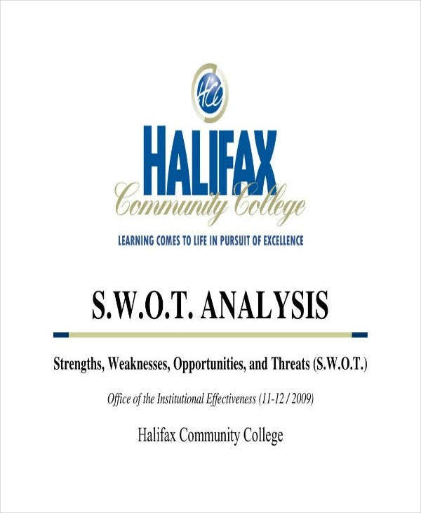 Community College SWOT Analysis